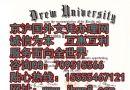 美国德鲁大学毕业证样本|美国学位证书办理|国外文凭代理机构|