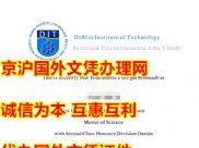 原版都柏林理工学院毕业证样式,买原版爱尔兰大学文凭,